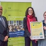 """Hochschule Darmstadt als """"Lernort für Nachhaltige Entwicklung"""" ausgezeichnet"""
